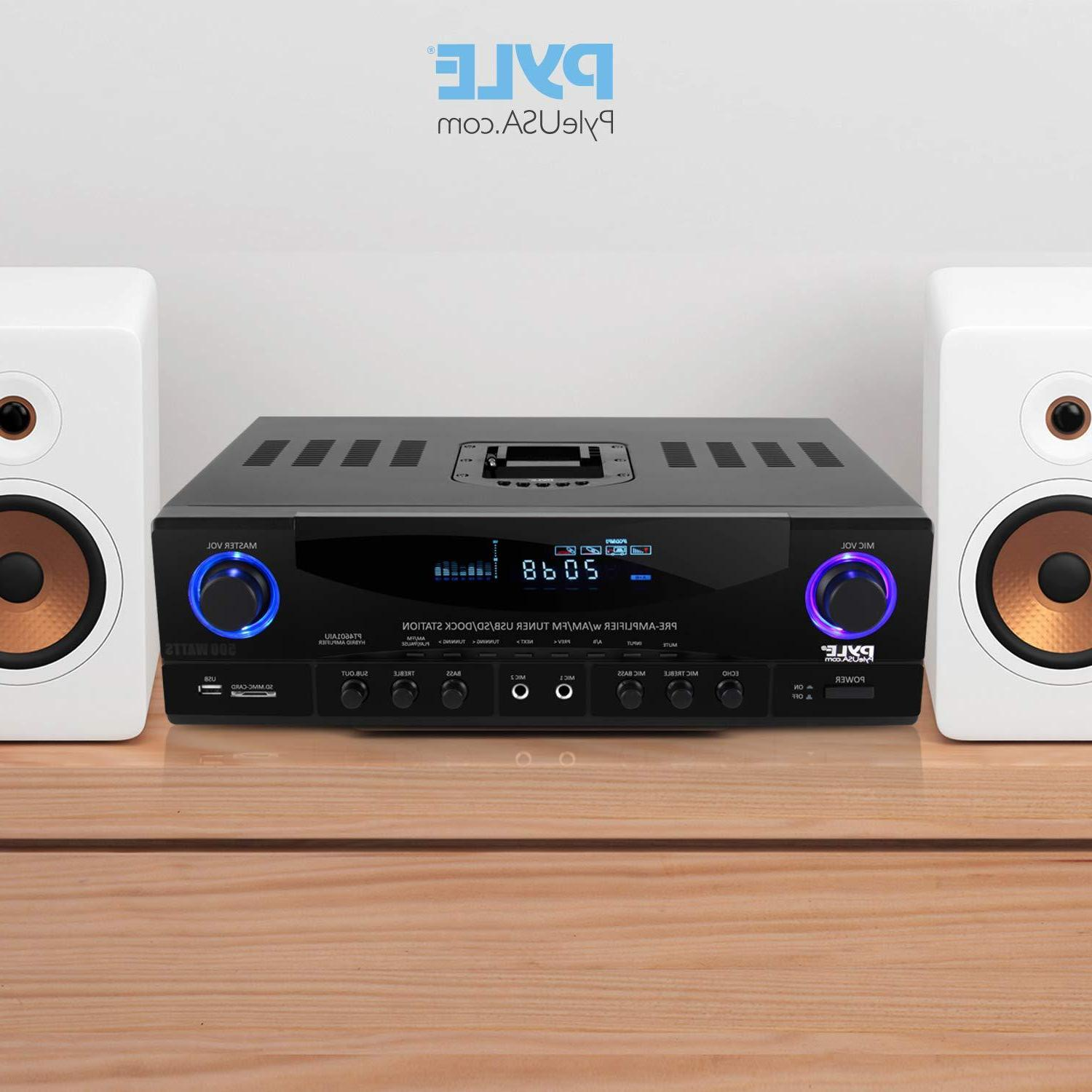 Home System - 500W 4 Channel Sound