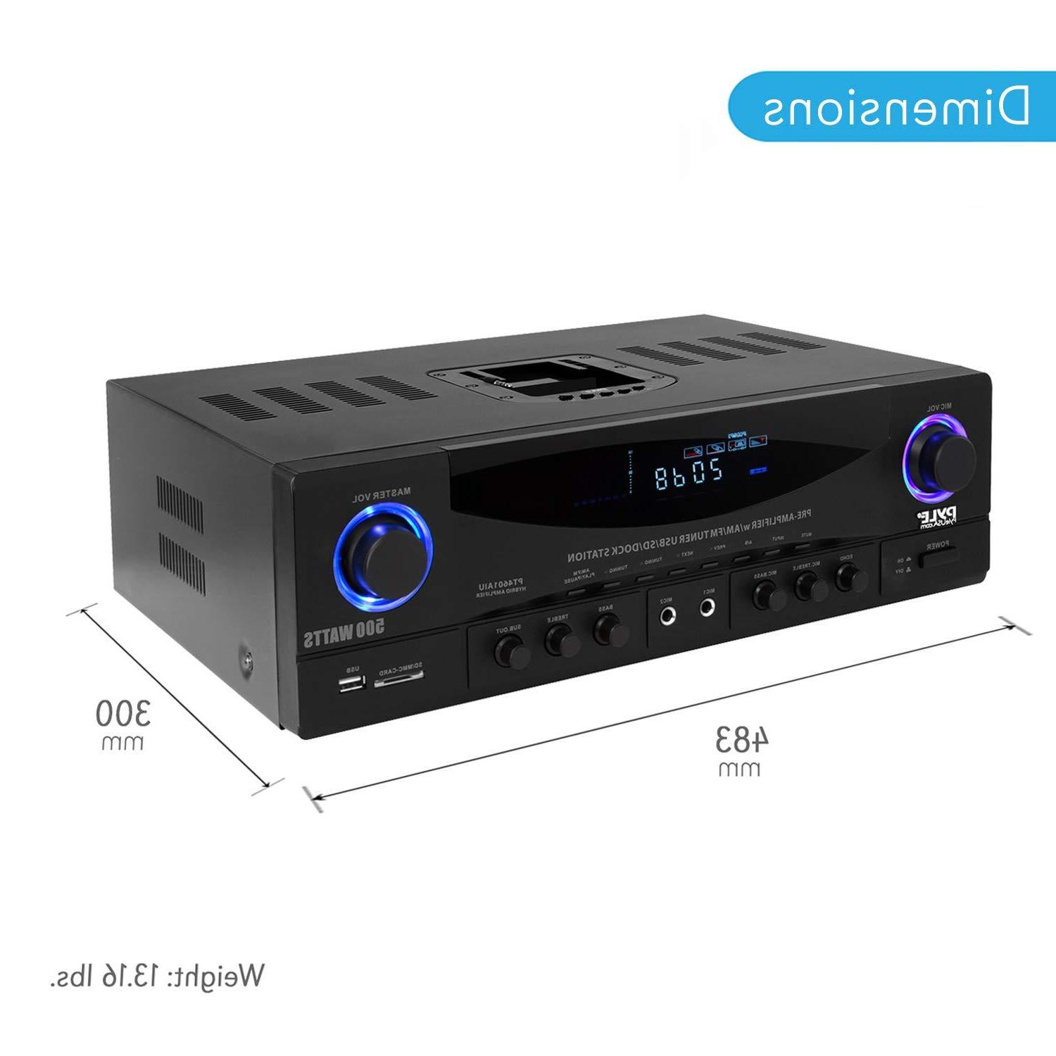 Home Power System - 4 Channel Power Sound