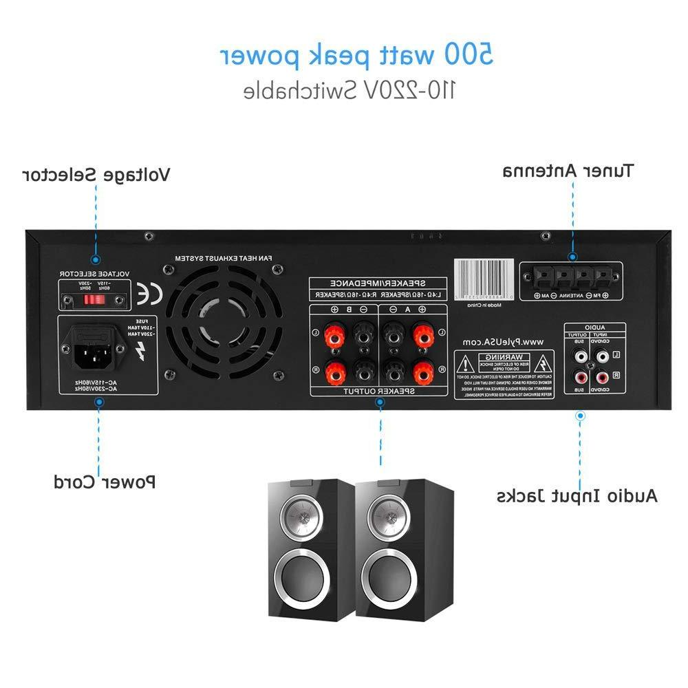 Home System 500W Channel Theater Stereo Sound