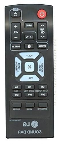 LG HOME THEATER REMOTE CONTROL COV30748128 NB2540 NB2540A S2
