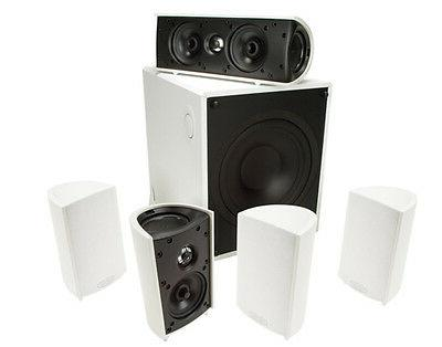 Home Theater Surround Sound 5.1 Channel Audio System 6 Set W