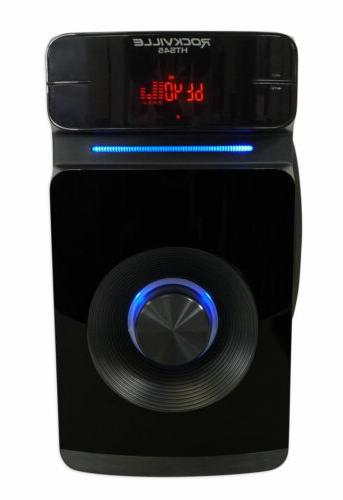Rockville HTS45 600w Channel Bluetooth Audio System+Subwoofer