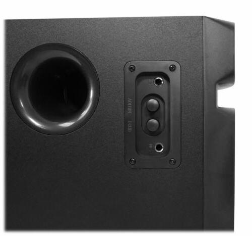 Rockville 5.1 Channel Audio System+Subwoofer