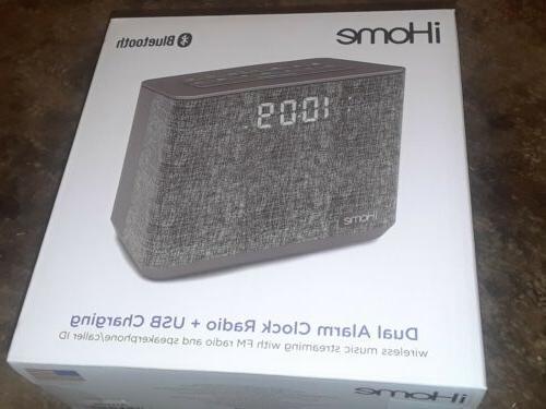 085ed31d92c ihome ibt232 bluetooth dual alarm clock radio speakerphone u