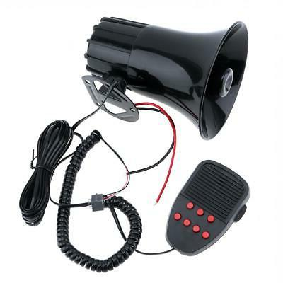 New 7 Tone Car Siren Megaphone Speaker System