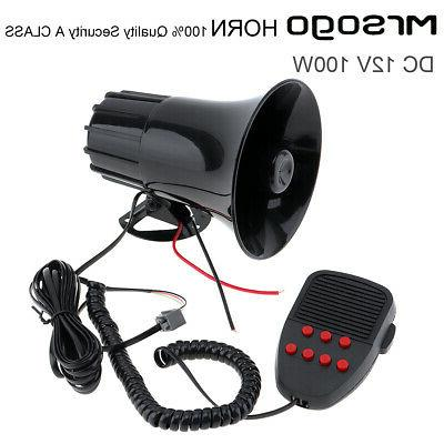 new 7 tone sound car police siren