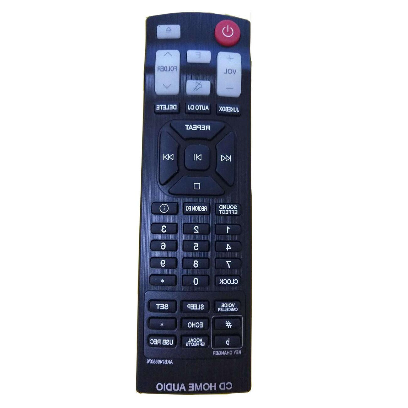New AKB74955376 Replace Remote Control for LG CD Home Audio