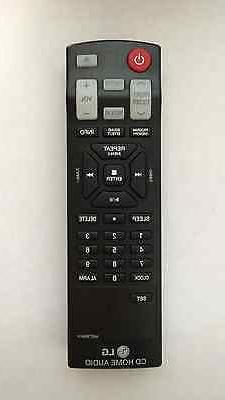 NEW LG CD Home Audio Mini Hi-Fi System Remote Control AKB736