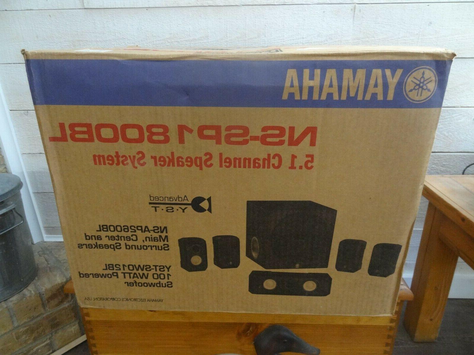 YAMAHA 5.1 Speaker