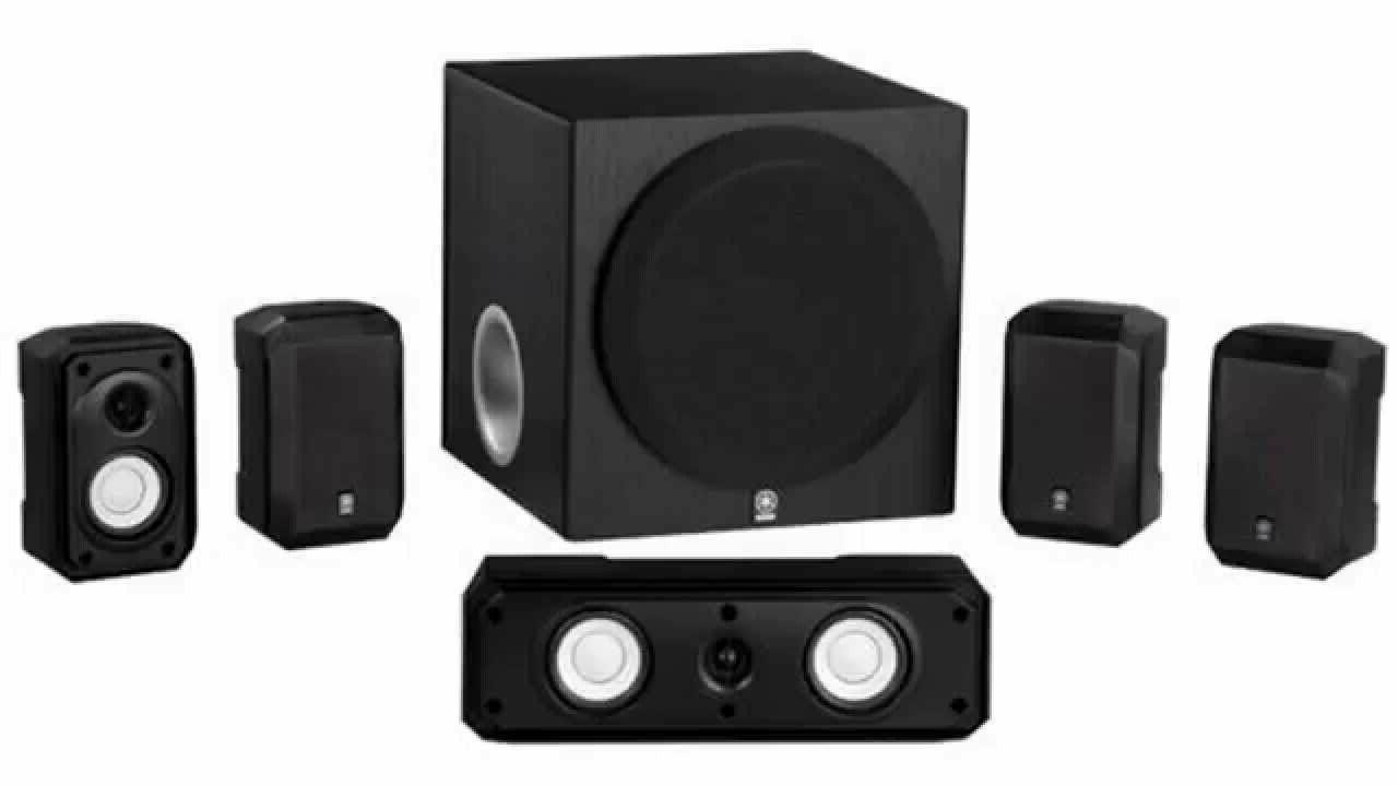 ns sp1800bl 5 1 channel speaker set