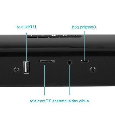TV Soundbar Bluetooth Sound System Subwoofer