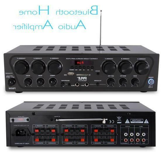 Pyle Audio 6-Ch. Source Stereo
