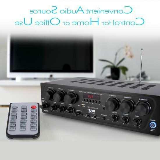 Pyle Home Audio Amplifier, 6-Ch. Source