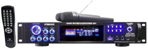 New 3000W Hybrid with Tuner/USB/2 Mics