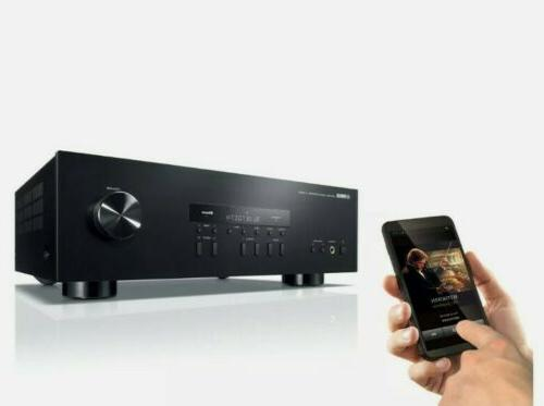 Yamaha R-S202BL Stereo Receiver w/ 40 Station FM/AM NEW
