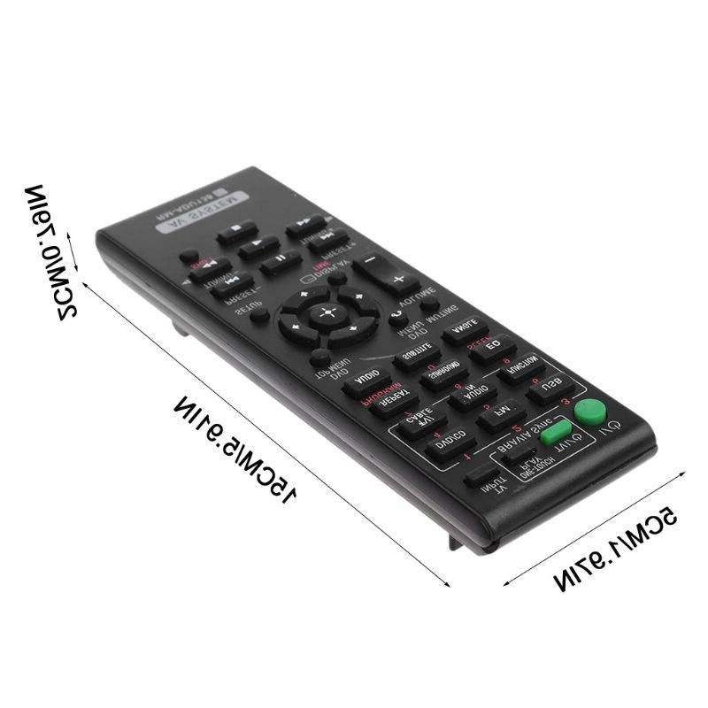 Remote Control <font><b>Audio</b></font> Video <font><b>Sony</b></font> <font><b>System</b></font> DAV-TZ140 HBD-TZ130 Replacement
