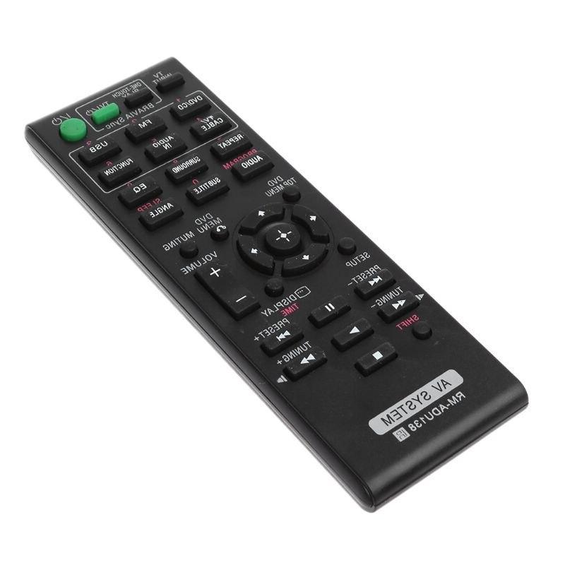 Remote Control Replace RM-ADU138 <font><b>Audio</b></font> <font><b>Sony</b></font> <font><b>System</b></font> Replacement