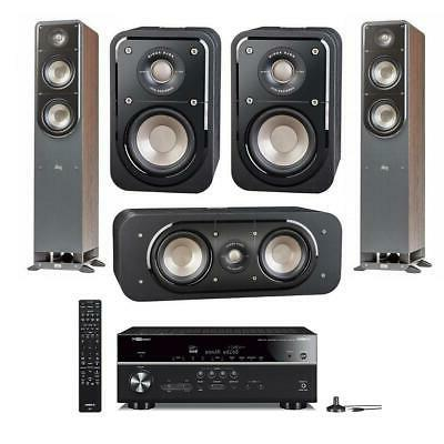 Polk Audio Signature Series 5 Speaker Home Theater System wi