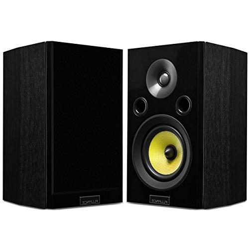Fluance Signature Series Sound Home Theater Channel Three-Way Floorstanding, Center, & Rear Surrounds, DB12 Black Ash