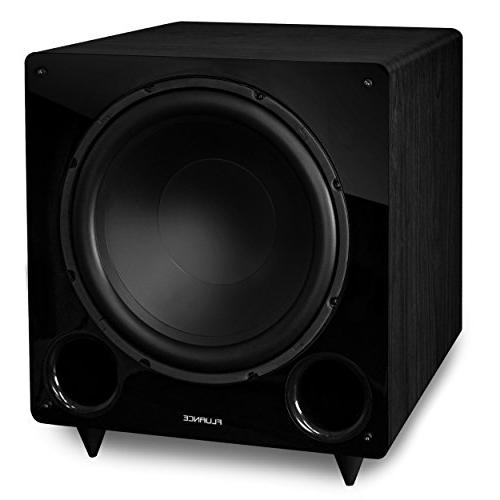 Fluance Series Sound Theater 7.1 Channel Speaker System Including Three-Way Floorstanding, Surrounds & Rear and DB12 Subwoofer - Ash