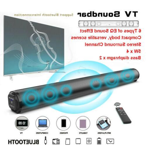 sound bar tv sound system bluetooth speaker