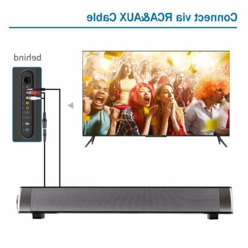 TV Bluetooth Sound Speaker System Lot @