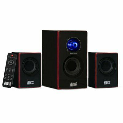 Acoustic Audio by Goldwood 2.1 Speaker System 2.1-Channel Ho