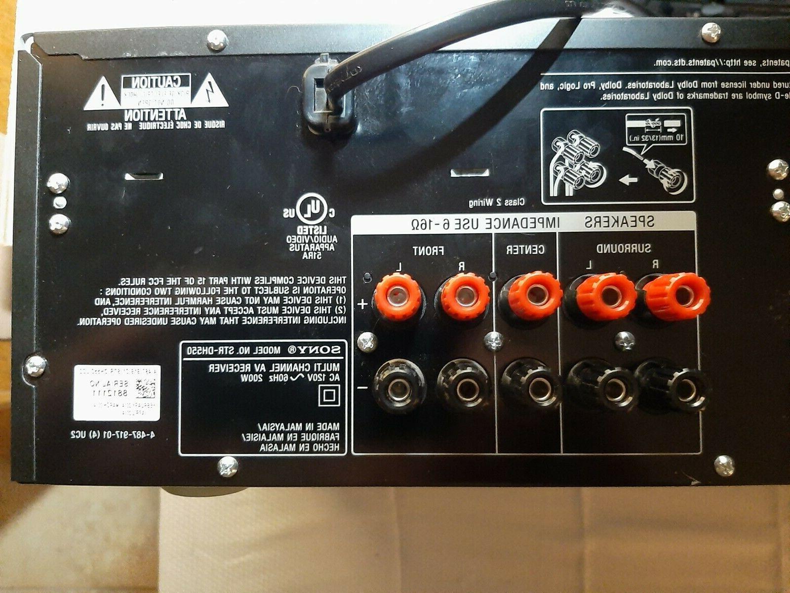 Sony STR-DH550 4K AV