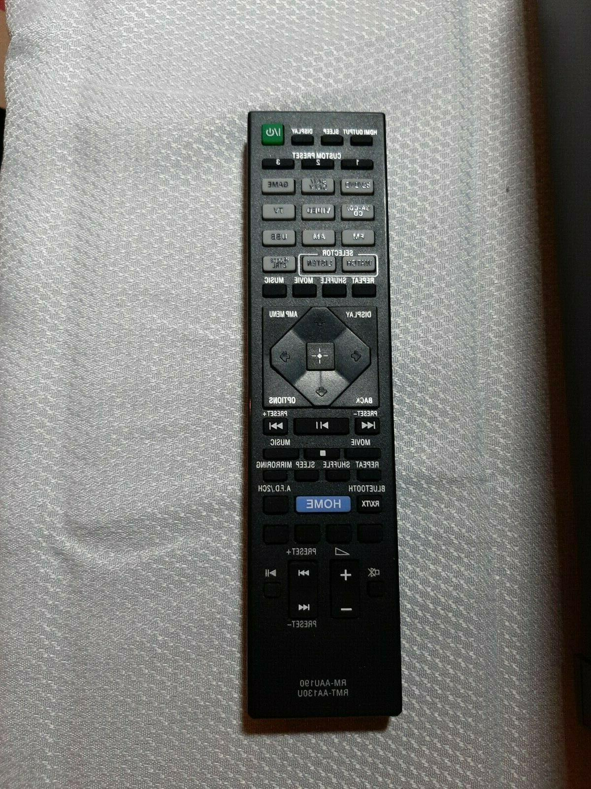 Sony STR-DH550 5.2 Channel With Remote