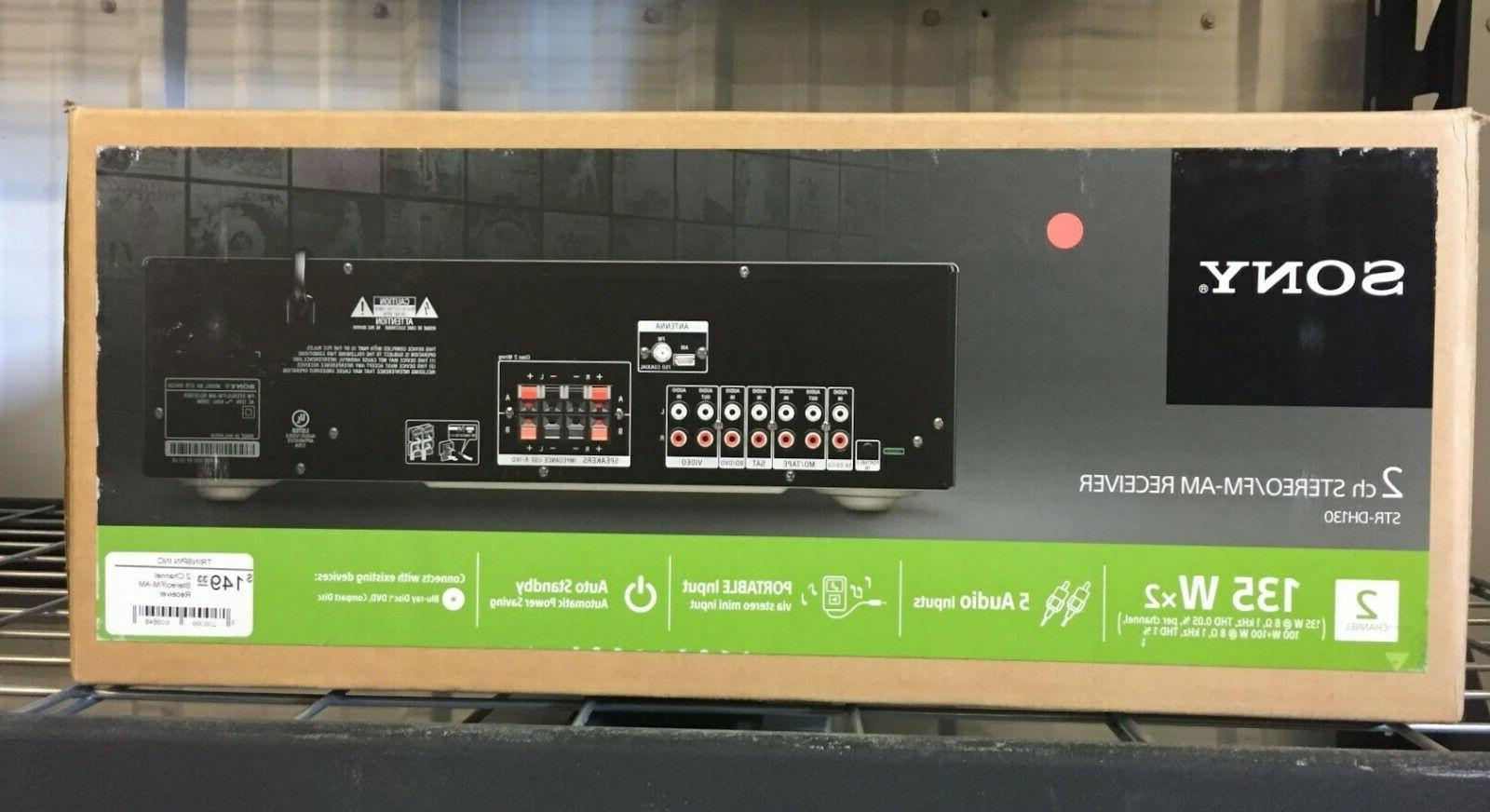Sony STR STR-DH130 Channel 100 Receiver **Brand New**