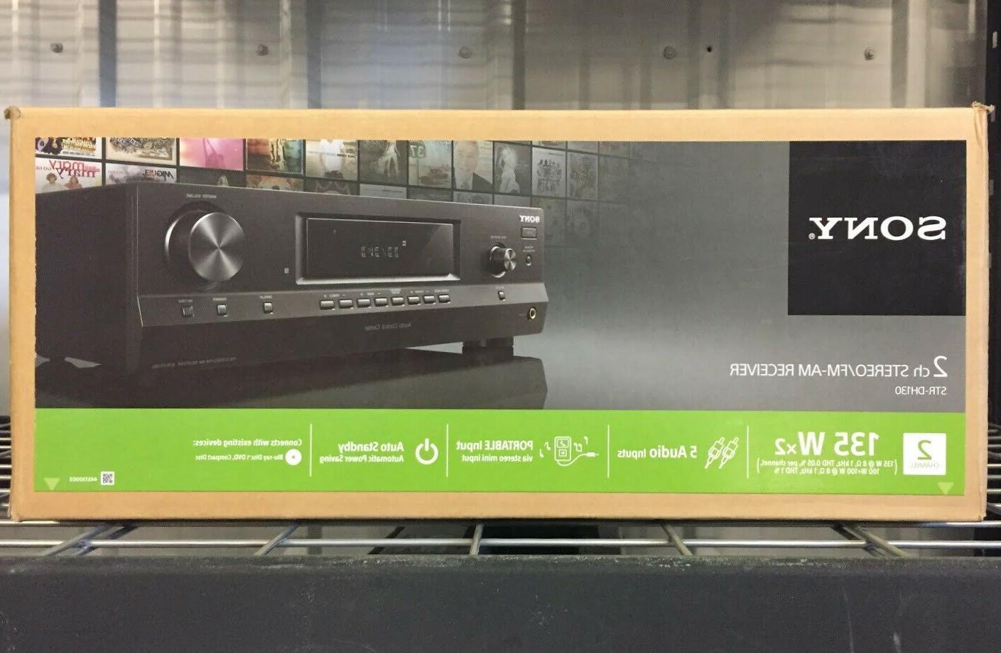 Sony STR STR-DH130 Channel 100 Watt Receiver New**