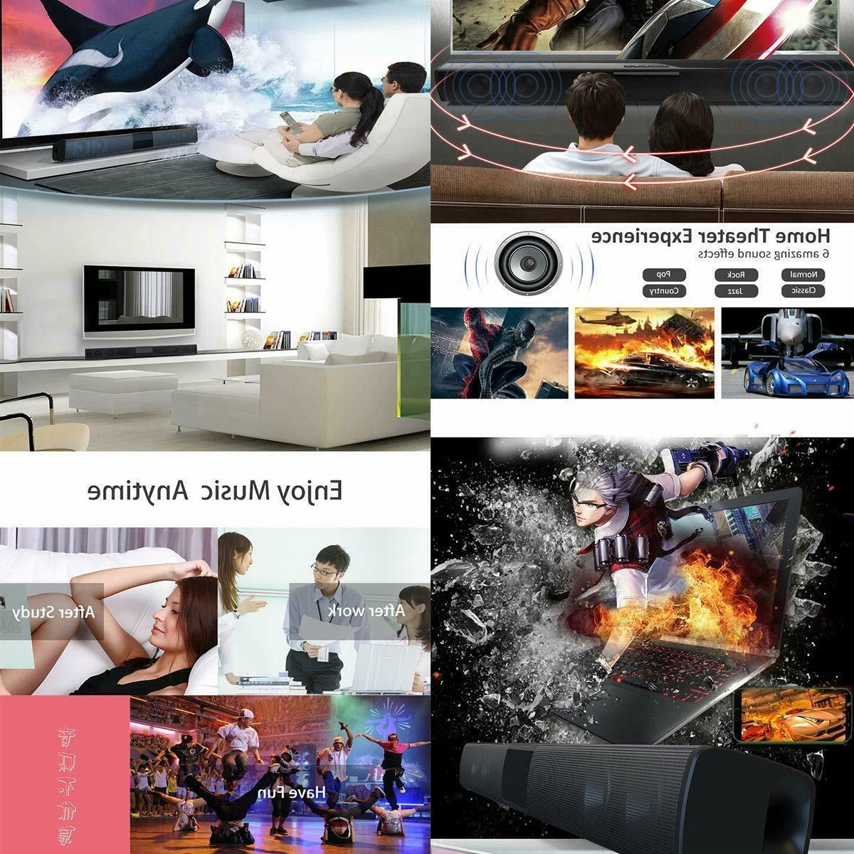 Surround Speaker Wireless BT Subwoofer