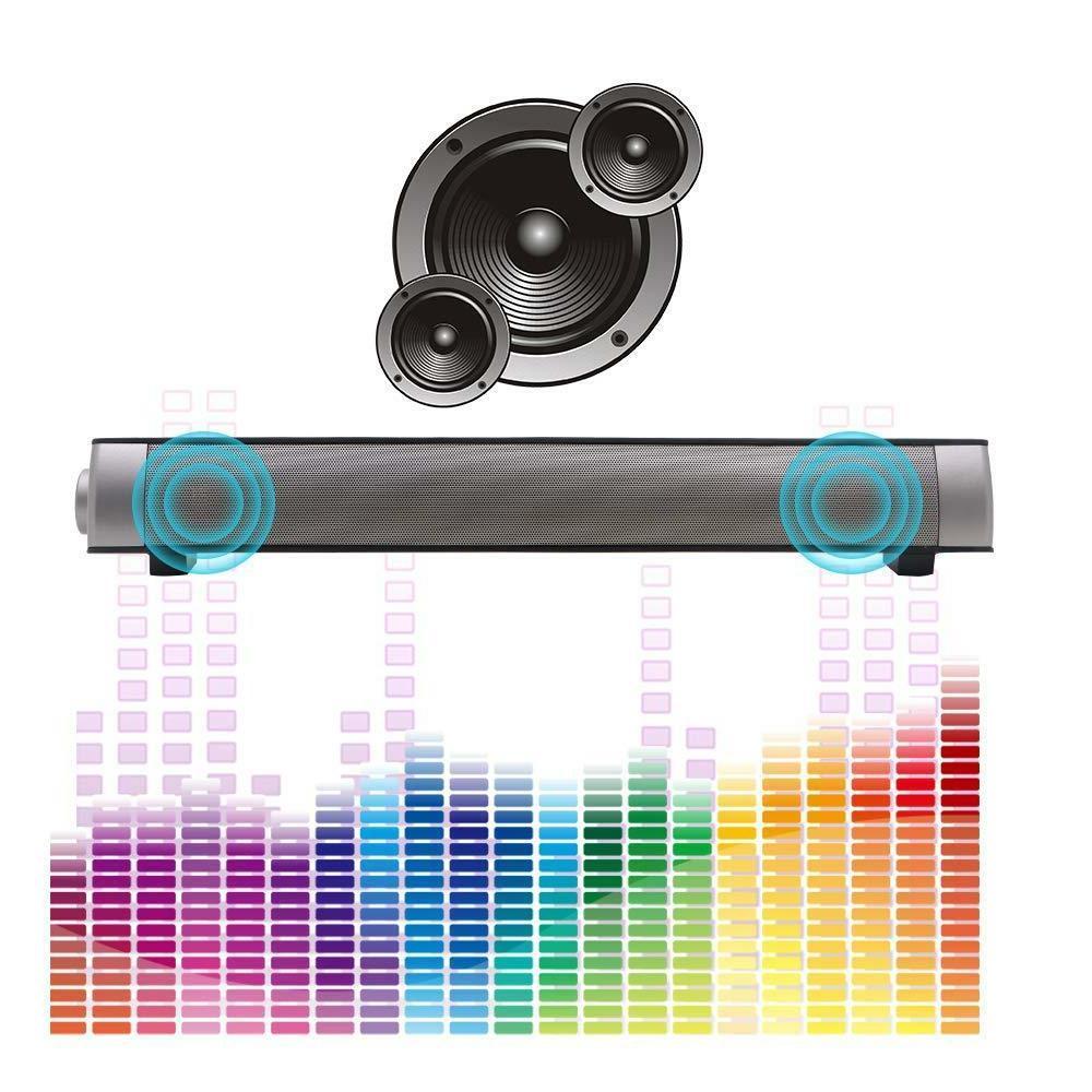 TV Bluetooth Sound Bar System w/Built-in