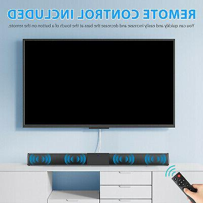 Bluetooth Soundbar TV Speaker System 3D