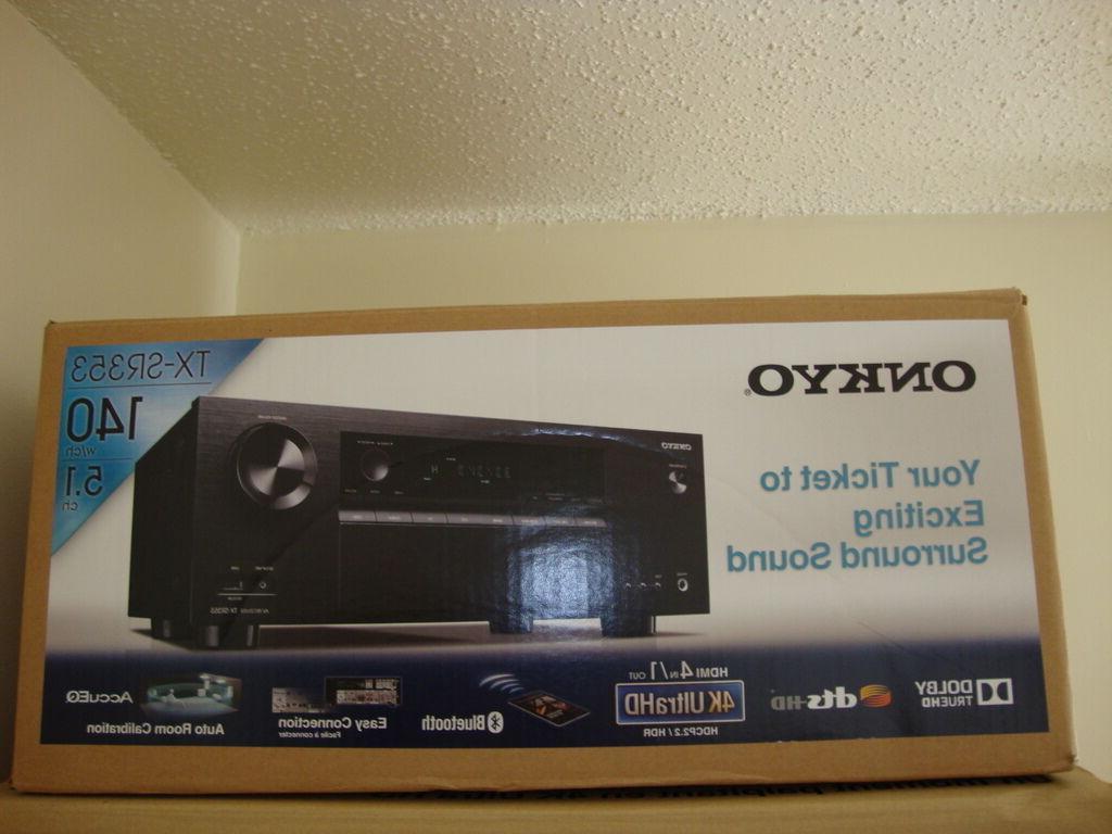 Onkyo TX-SR353 A/V Receiver - 5 1 Channel -