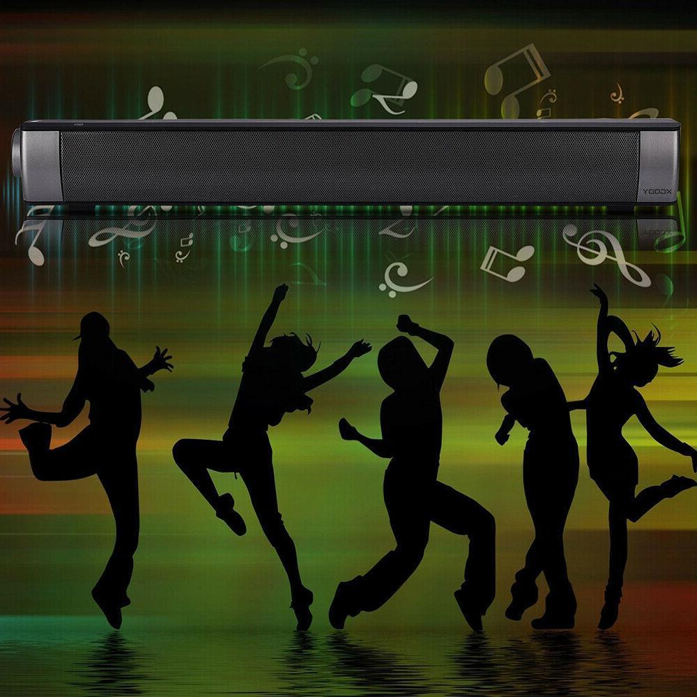Wireless Sound Bar Speaker System Theater Soundbar Subwoofer
