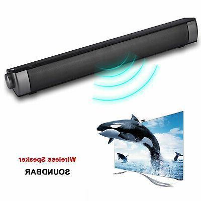 wireless bluetooth sound bar speaker system tv