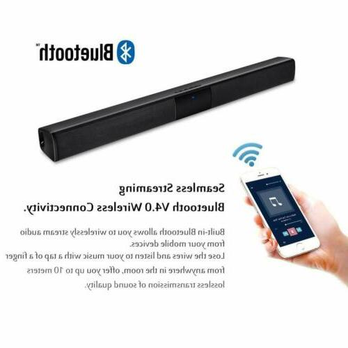 Wireless Sound System Soundbar Remote