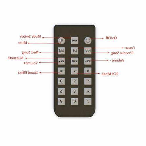 Wireless System TV Soundbar Remote