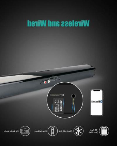 Wireless System Soundbar Subwoofer