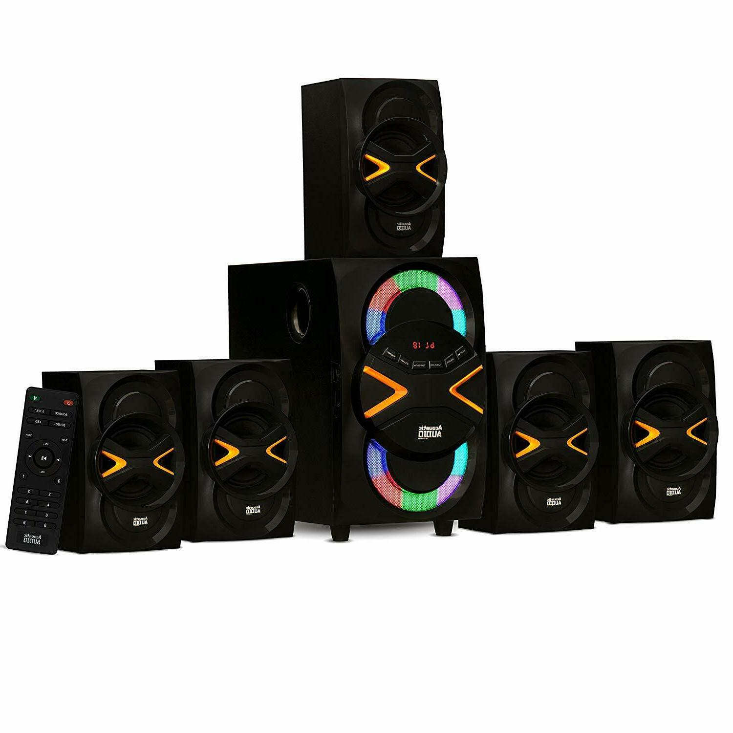 Wireless Sound Speakers Home Bluetooth LED