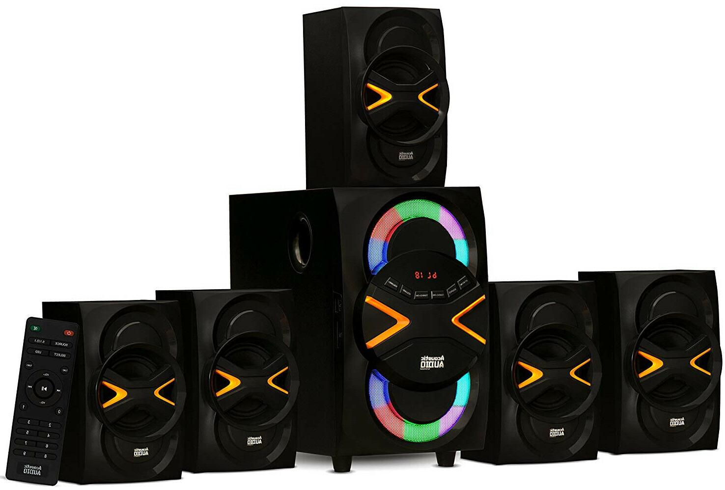 wireless surround sound speakers home entertainment system