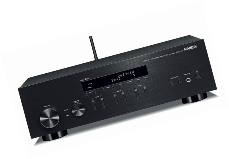 yamaha r n303bl stereo receiver with wi