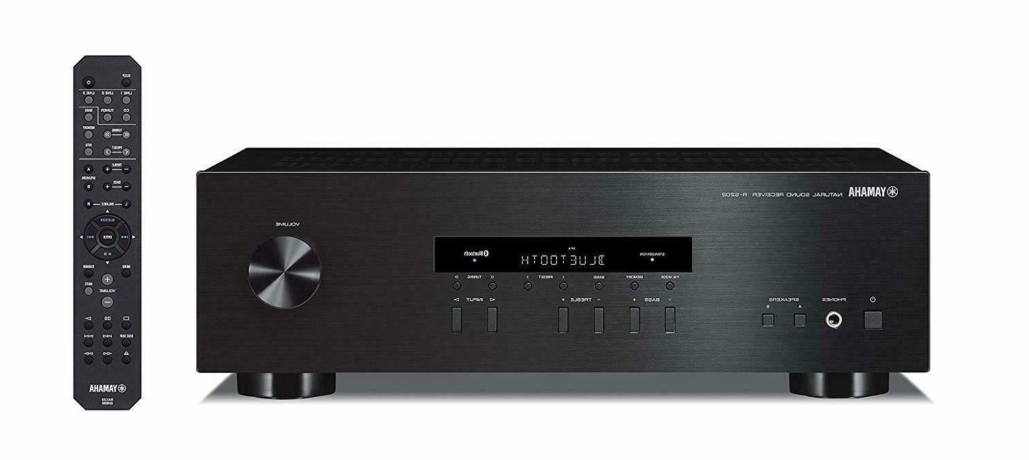 yamaha r s202bl stereo receiver 2channel