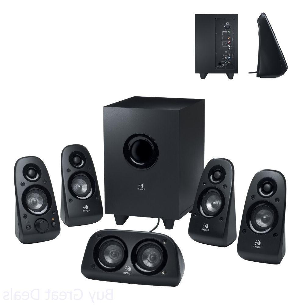 Logitech Z506 Speaker System, 5.1 Surround Sound Home Theate