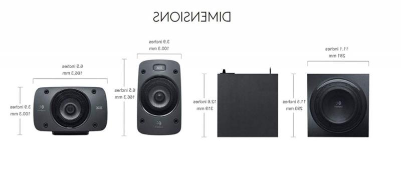 Z906 Speaker System THX, Dolby and DTS Certified