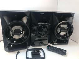 Sony MHC-EC619iP Micro Hi-fi Home Audio System iPhone Dock F