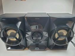 Sony MHC-EC619iP MicroHi-fi Home Audio System iPhone Dock FM