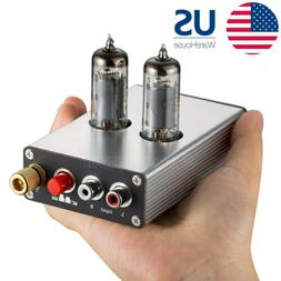 MM/MC Phono Turntable Tube Preamp Mini Electronic Audio Phon