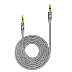 Alcatel OneTouch Speakeasy Aux Audio Cord 6 Ft Tangle Free S